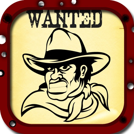 Wanted Poster Pro Photo Booth - Take Reward Mug Shots For The Most Wanted Outlaws iOS App