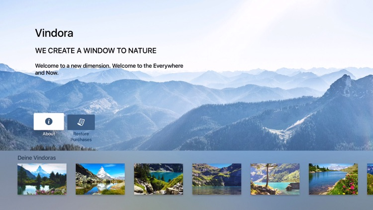 Vindora - Relaxing Alpine Ambient Video Wallpapers for Meditation & Wellness