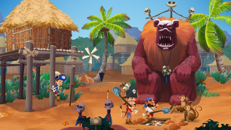 The Amazing Quest, the forgotten treasure - An adventure game for kids screenshot-4