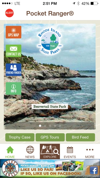 Rhode Island State Parks Guide- Pocket Ranger® screenshot-1
