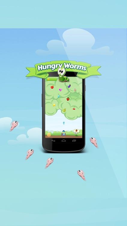Hungry Worms screenshot-4