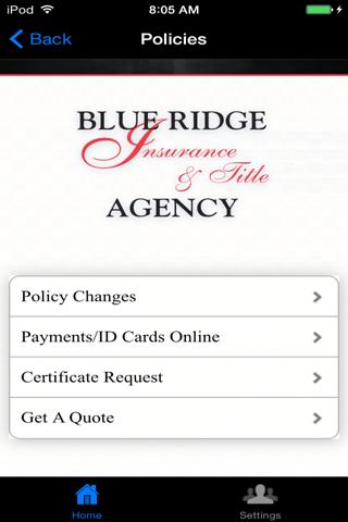 Blue Ridge Insurance & Title - náhled
