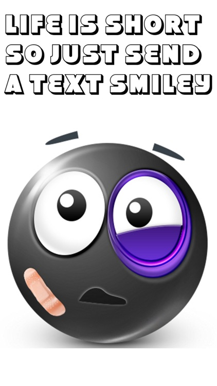 Black Text Smileys Keyboard - Black Emojis & Extra Emojis by Emoji World