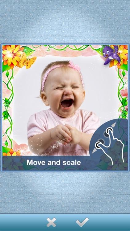 MamaCam - the cutest camera frames for your baby photos! screenshot-3