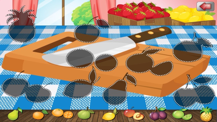 A Food Puzzle For Preschoolers screenshot-0