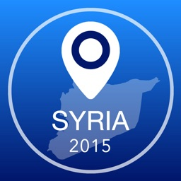 Syria Offline Map + City Guide Navigator, Attractions and Transports