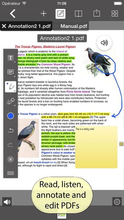 PDF Editor with Word Processor & Sketch pad screenshot-0