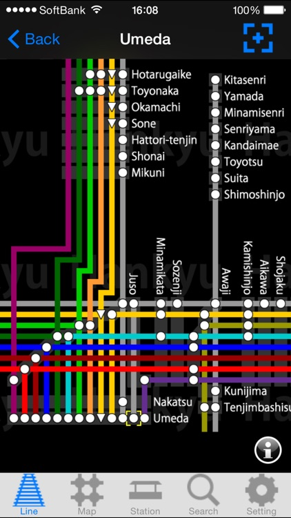 KANSAI Route Map screenshot-4