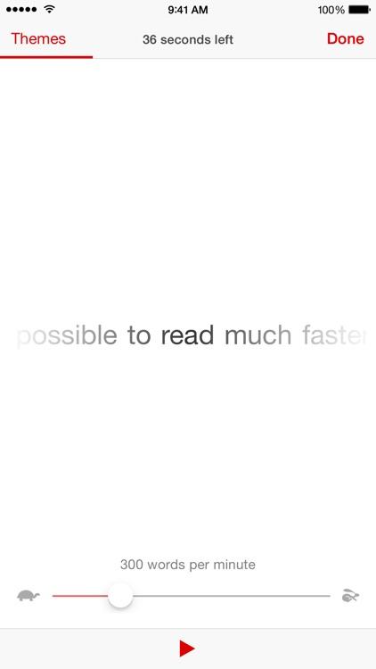 Accelerator – Speed Reader