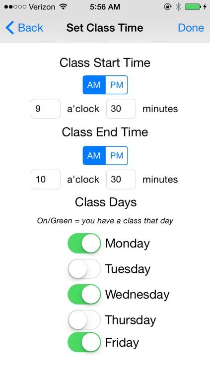 My Classes (Visualize!) screenshot-4