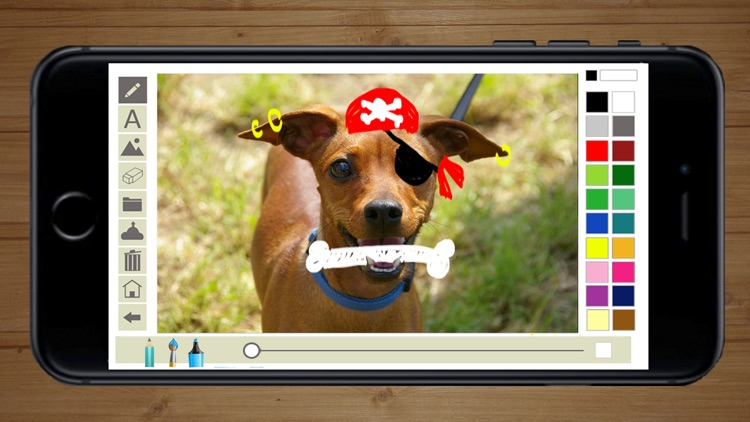 Write and draw in photos - Premium