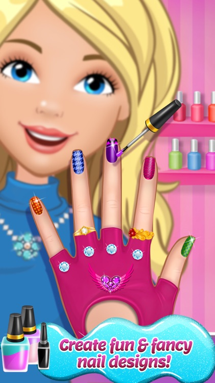 Fancy Nail Shop - Mani Pedi Salon screenshot-0