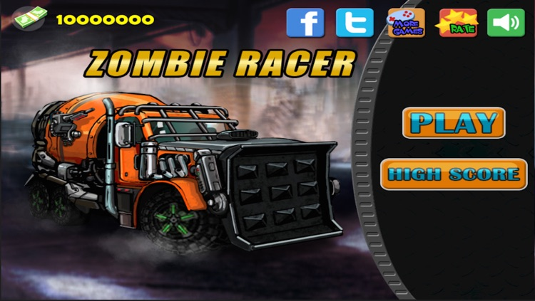 Zombie Racer  2 screenshot-4