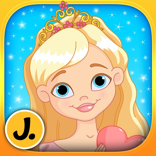 Princesses, Mermaids and Fairies - puzzle game for little girls and preschool kids - Free
