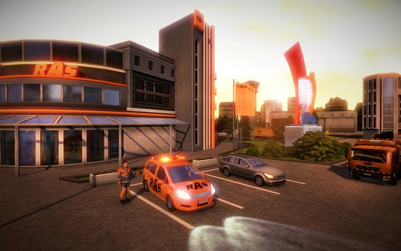 Roadside Assistance Simulator screenshot 1