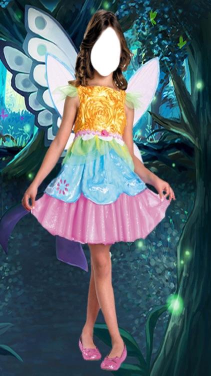 Fairy Dress Photo Montage screenshot-4
