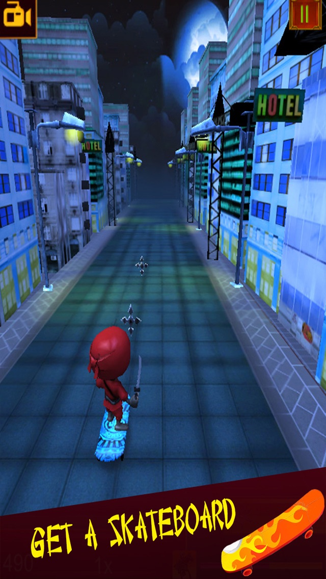 Teenage Ninja Run & Jump Mobile - Fun 3D Kids Games Free Screenshot