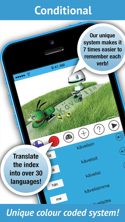 LearnBots Finnish - Verbs + Pronunciation by a Native Speaker! screenshot-3