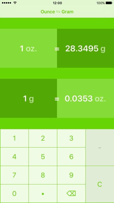 Screenshot 3 For Ounces To Grams Ounce Gram Oz G