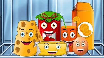 Peekaboo kids kitchen - Toddler first words learning screenshot two