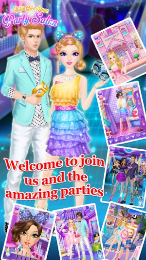 Party Salon - Girls Makeup & Dressup Games on the App Store