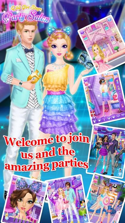 Party Salon - Girls Makeup & Dressup Games screenshot-3