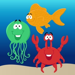 Toddler Aquarium Puzzle Free: Fish sticker book