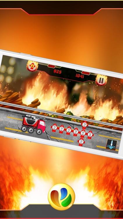 Fun Fire Fighters Racing Game screenshot-3