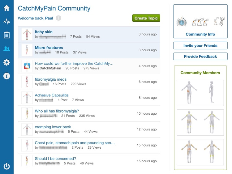 Pain Diary & Community - CatchMyPain