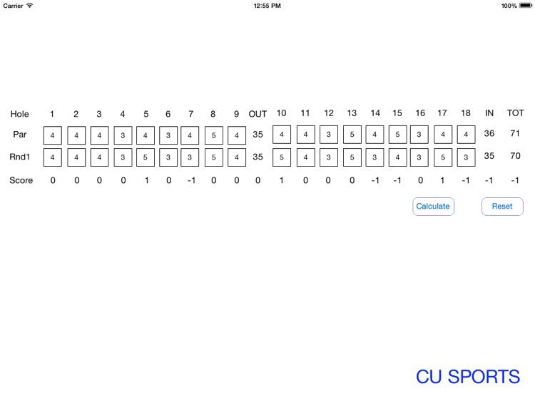 Golf-Scorecard screenshot-3