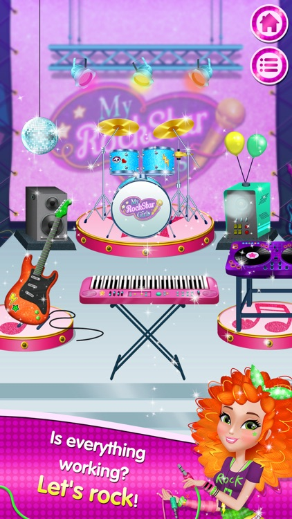 My Rockstar Girls - Party Rock Band screenshot-4