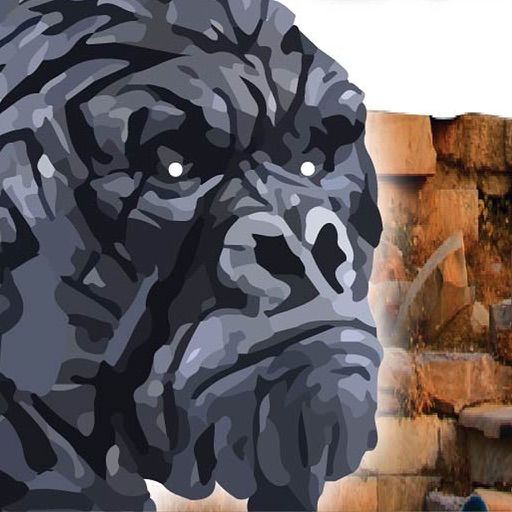 Gorilla Ruin Temple : Survival Brave Rescue