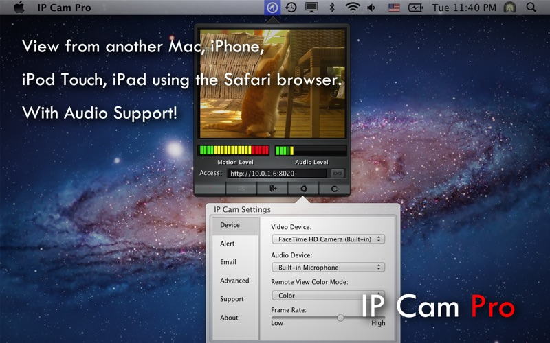 IP Cam Pro Screenshot