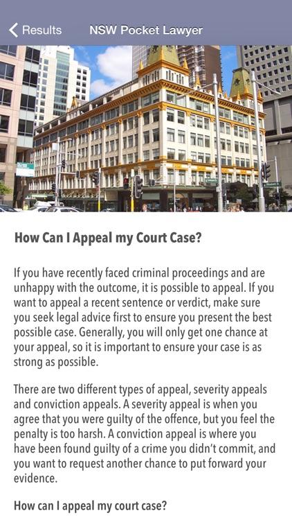 NSW Pocket Lawyer