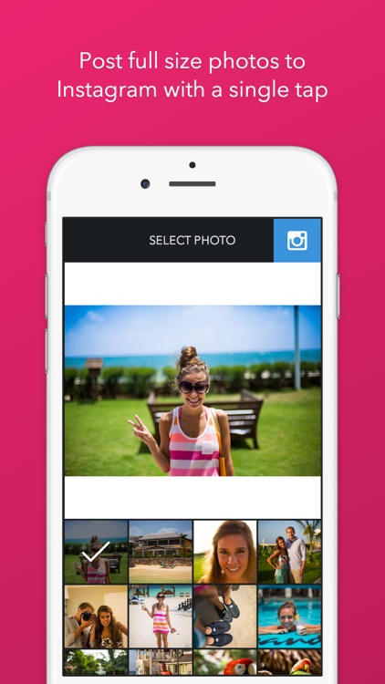 Trim - Post Full Size Photos to Instagram