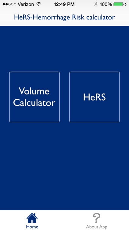 HeRS - Hemorrhage Risk Stratification Calculator