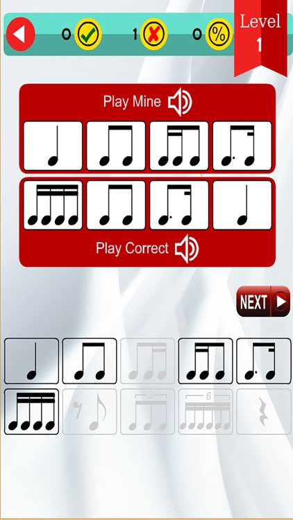 Beat Drills (Music Math, Rhythm Pie, Note and Audio Recognition) screenshot-3