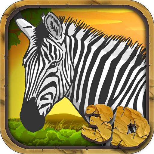 Zebra Wildlife Simulator 3D
