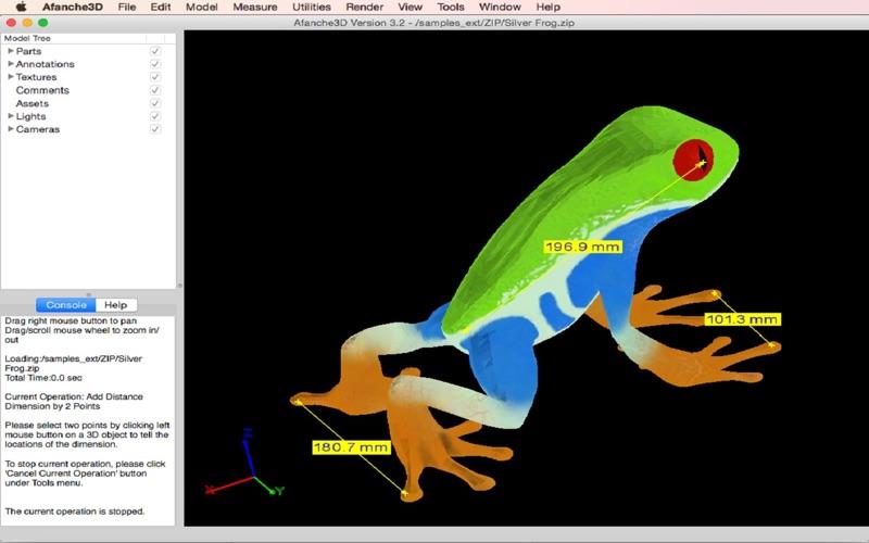Afanche3D Pro скриншот программы 2