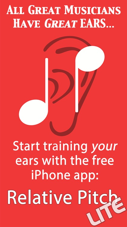 Relative Pitch Free Interval Ear Training - intervals trainer tool to learn to play music by ear and compose amazing songs screenshot-0