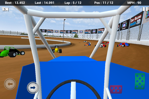 Dirt Racing Mobile 3D Free screenshot 2