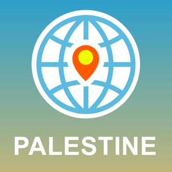 Palestine Map - Offline Map, POI, GPS, Directions