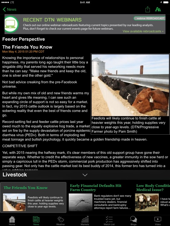 DTN/The Progressive Farmer: Agriculture News screenshot-2