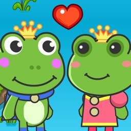 Prince Frog And Princess Frog Adventure