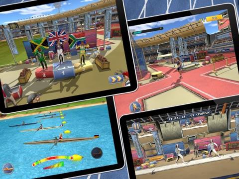 Athletics 2: Летние Виды Спорта - Free на iPad