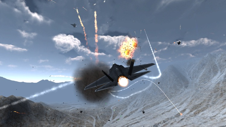 Stratosphere War - Flight Simulator