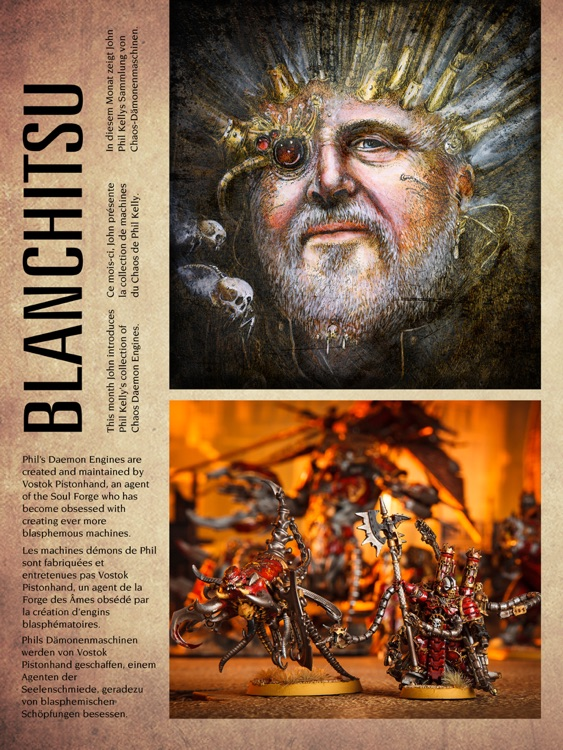 Warhammer: Visions - the monthly magazine from the creators of White Dwarf