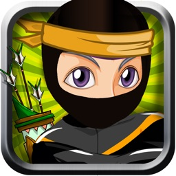 Shadow Ninja Bow and Arrow Shooter Showdown- Dont Hit the Rikishi Sumo Wrestler 2