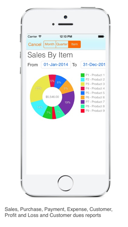 Invoice Tracker Pro : Create Invoice and email PDF screenshot-3