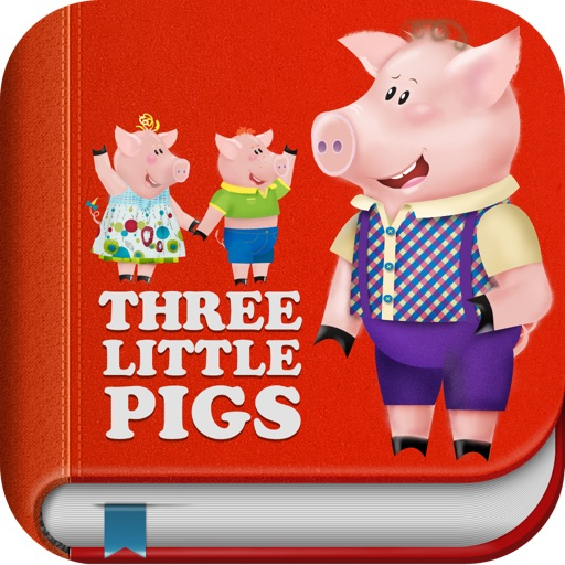 The Three Little Pigs - Interactive bedtime story book